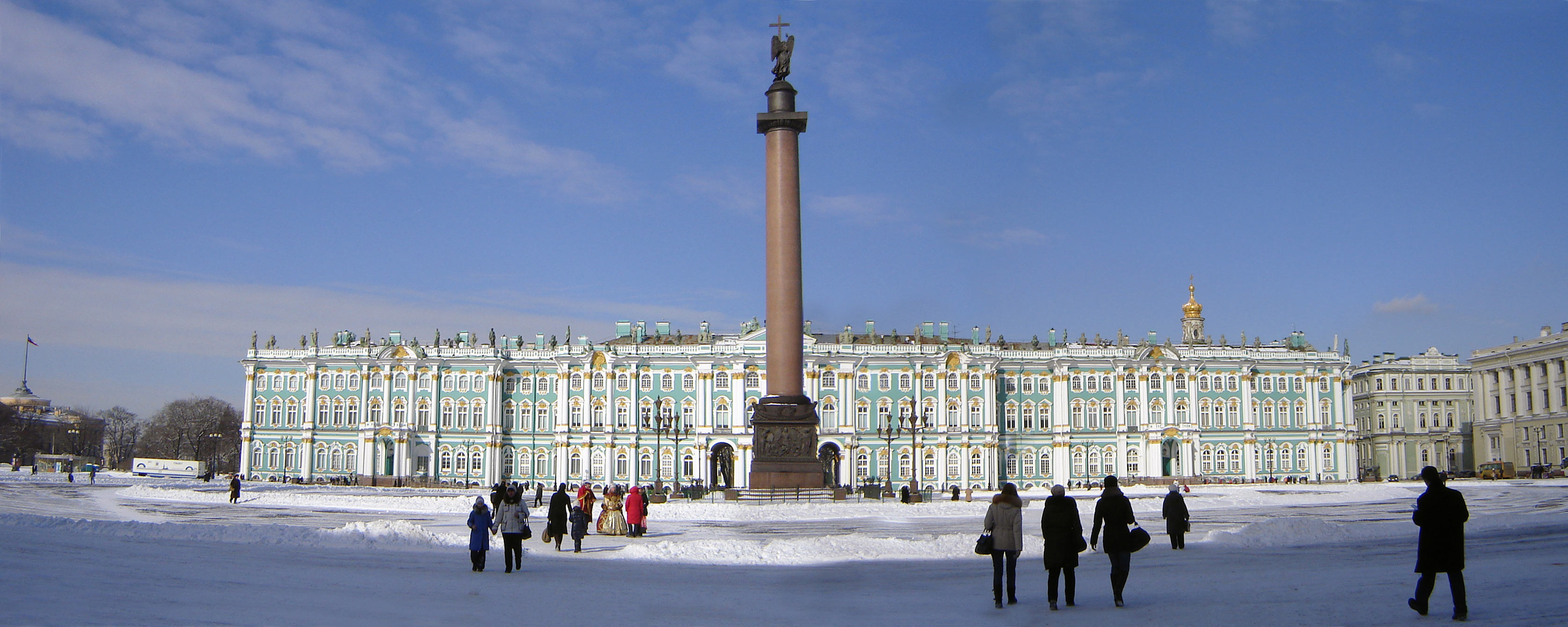 Зимний дворец  Picture of State Hermitage Museum and