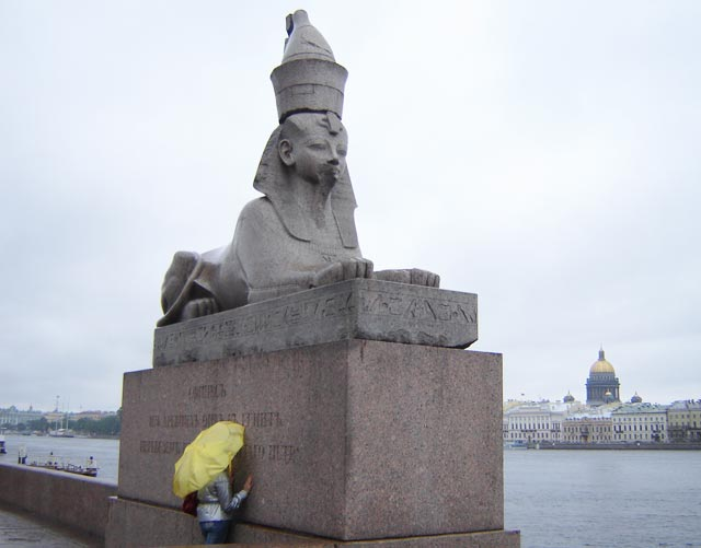 Sphinxes in Russia