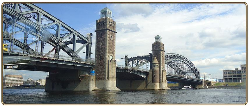 Мост Петра Великого (Большеохтинский)